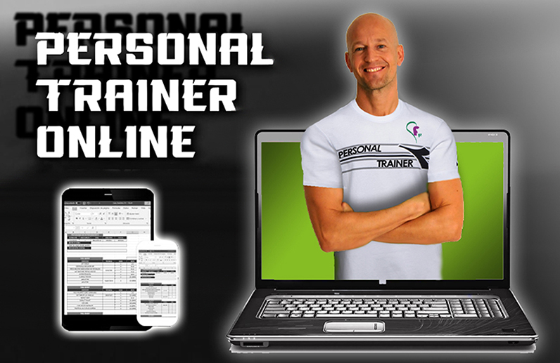 Fitness Faktory Personal Trainer Online homepage