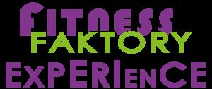 Logo Fitness faktory Experience no payoff